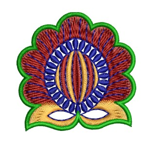 Blog Embroidery Lotus