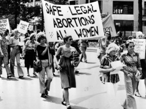 Roe v. Wade was a monumental Supreme Court case that changed family planning for women everywhere.  Photo Credit: www.ellabakercenter.org