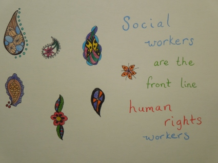 Quote: Social Workers are the Front Line Human Rights Workers