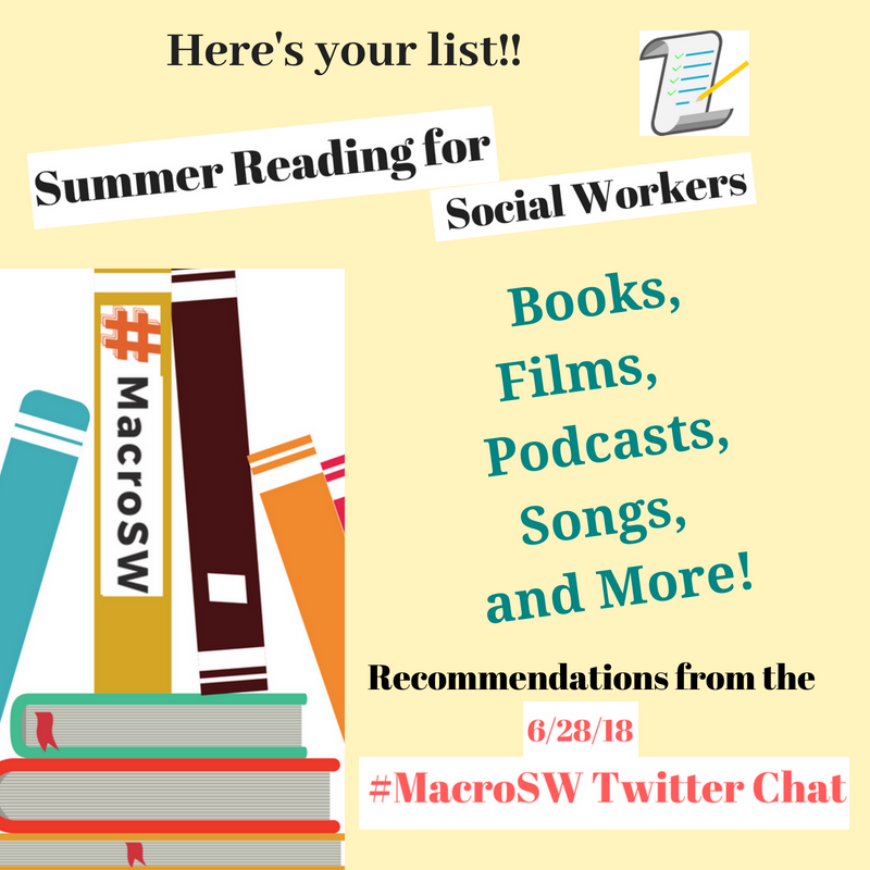 here's your list! with checklist image and a stack of books